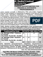 Detailed Advertisement - DM (F&a) - 27.3.2014