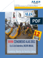 BoletinALAS 12 – Agosto de 2011