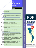 BoletinALAS 14 – Mayo de 2012