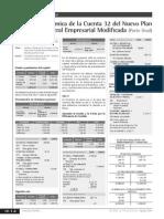 Analisis de La Cuenta 32 Pcge 2