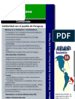 BoletinALAS 16 – Julio de 2012