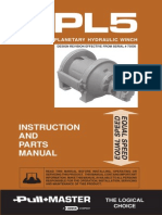 Winch - PL5 (Service Manual)