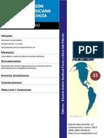 BoletinALAS 22 – Marzo de 2014