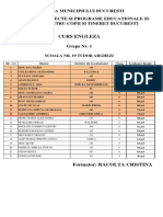 Evaluare Finala Lb. Engleza