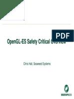04 OpenGL ES SC Overview