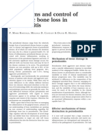 Mechanisms and Control of Pathologic Bone Loss in Periodontitis