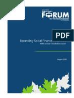 Social Finance Consultation 2010_1