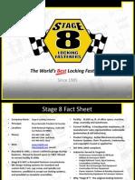 Stage 8 Locking Fasterners Corporate Background Presentation