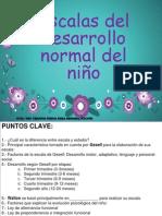 Copia de 3 Clase Escalas Del Desarrollo Del Niño