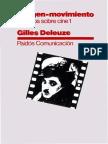 Deleuze-La Imagen-movimiento Estudios Sobre Cine
