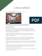 01-05-2014 El Universal.mx - Congreso se alista al análisis de iniciativa.