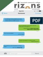 Housatonic Horizons May 2014