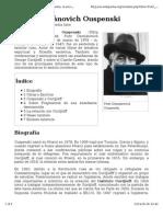 P. D. Ouspensky_es