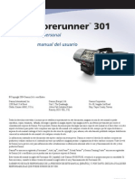 Forerunner 301 - Manual de Usuario
