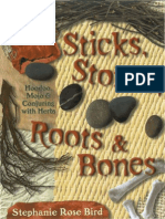 Stephanie Rose Bird - Sticks, Stones, Roots & Bones - Hoodoo, Mojo & Conjuring With Herbs OCR