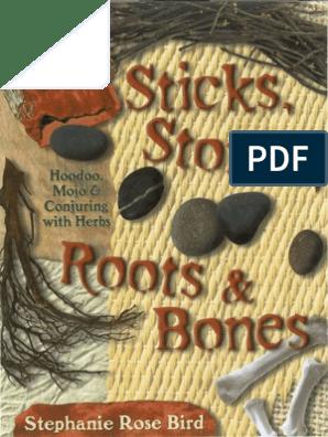Stephanie Rose Bird - Sticks, Stones, Roots & Bones - Hoodoo