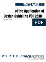 Review Design Guideline VDI2230fda
