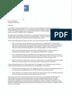 David Brock Letter
