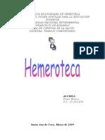 Chiquita La Hemeroteca