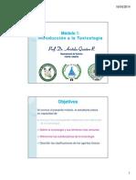 Clase 2-Introducción a La Toxicología - Áreas de La Toxicología
