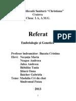 Referat - Embriogenetica - Sindromul Patau