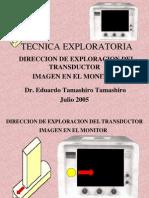 Tecnica Exploratoria (Dirección Del Transductor-imagen en El