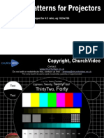 Cv Test Patterns