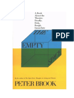 Brook, Peter - The Empty Space
