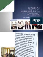 Recursos Humanos en La Hotelería