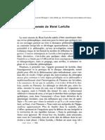 1956 - La Pensée de René Leriche