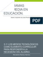 Programas Multimedia en Educación - Copia