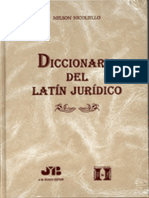 Diccionario Del Lat n Jur Dico - Nelson Nicoliello
