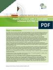 Influenza AH7N9 China Rapid Risk Assessment 27 January 2014