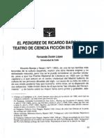 El Pedigree de r Baroja PDF Versic3b3n Final