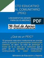 proyectoeducativointegralcomunitariopeic-091117145015-phpapp02