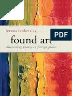 Found Art by Leeana Tankersley, Excerpt