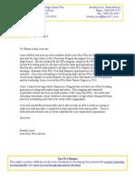 letter from brenda