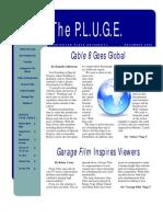 the P.L.U.G.E. - November 2009