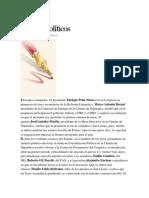 30-04-2014 Excelsior - Frentes Políticos.