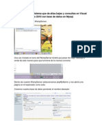 Creación de un sistema en Visual Studio 2010 en ASP.NET con Mysql