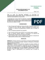 1123 Nueva Convocatoria Elección Representante Profesoral Cf