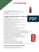 Coca-Cola for Everyone - TV Ad