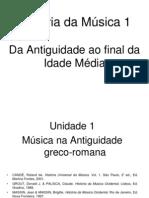 HM1 Unidade 1 Musica Na Antiguidade Greco-romana