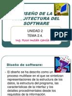 DiseNo de La Arquitectura Del Software