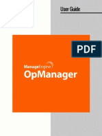 Opmanager Userguide