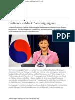2014-03 Korea Wiedervereinigung neu entdeckt
