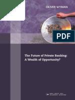 Oliver Wyman Future Private Banking