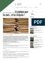 [DOSSIER] TAFTA Expliqué Pour Les Nuls... Et Les Citoyens !