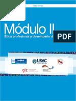 Módulo II Ética Profesional y Desempeño Docente