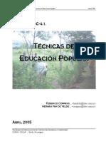 4.1.TecnicasdeEducacionPopular